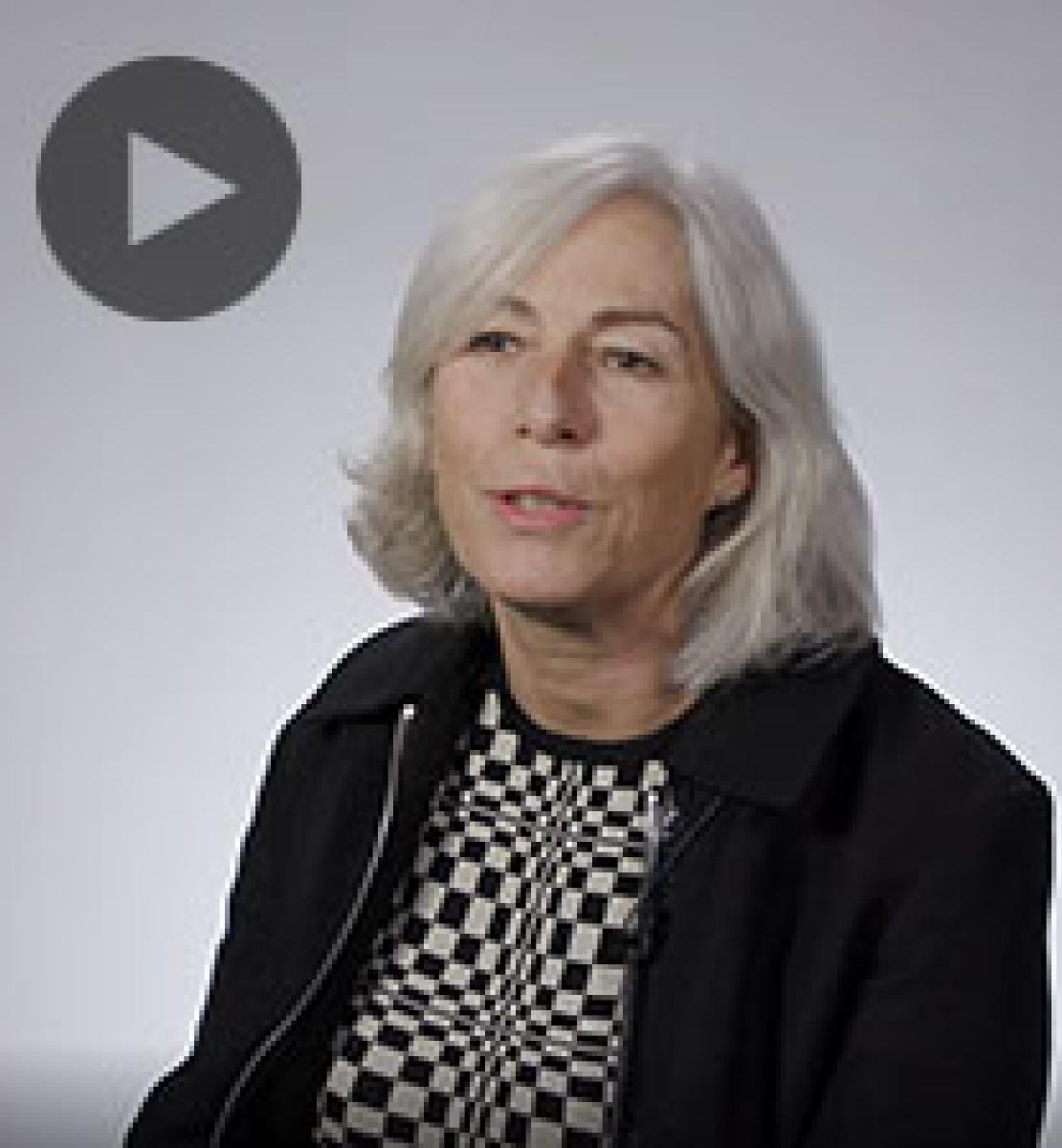 Screenshot from video message shows Resident Coordinator, Fiona McCluney