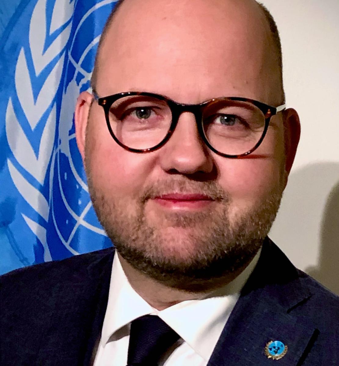 Un retrato de Peter Lundberg, nuevo Coordinador Residente de la ONU en Montenegro