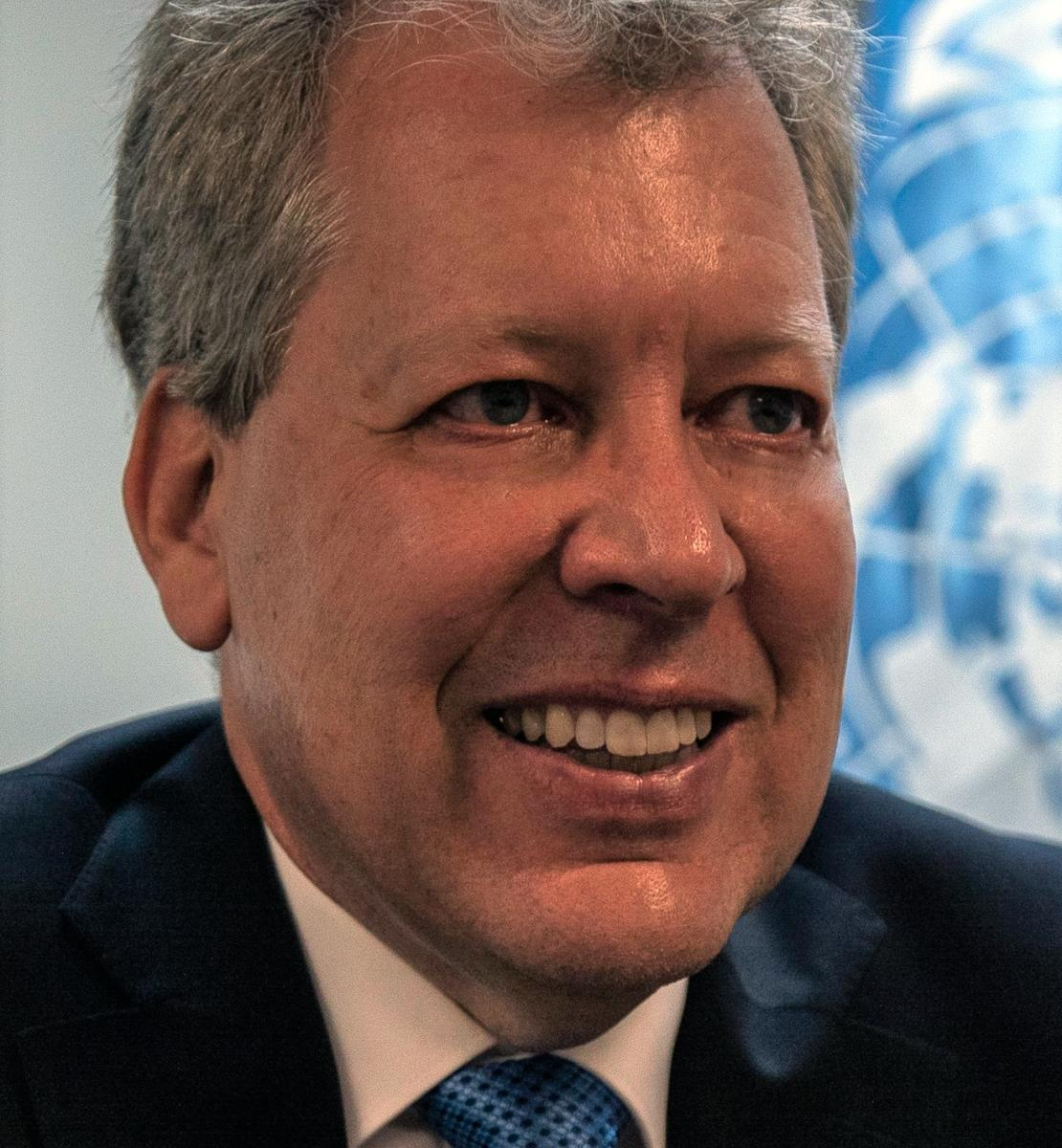 Official photo of the new appointed Resident Coordinator for Mexico, Peter Grohmann.
