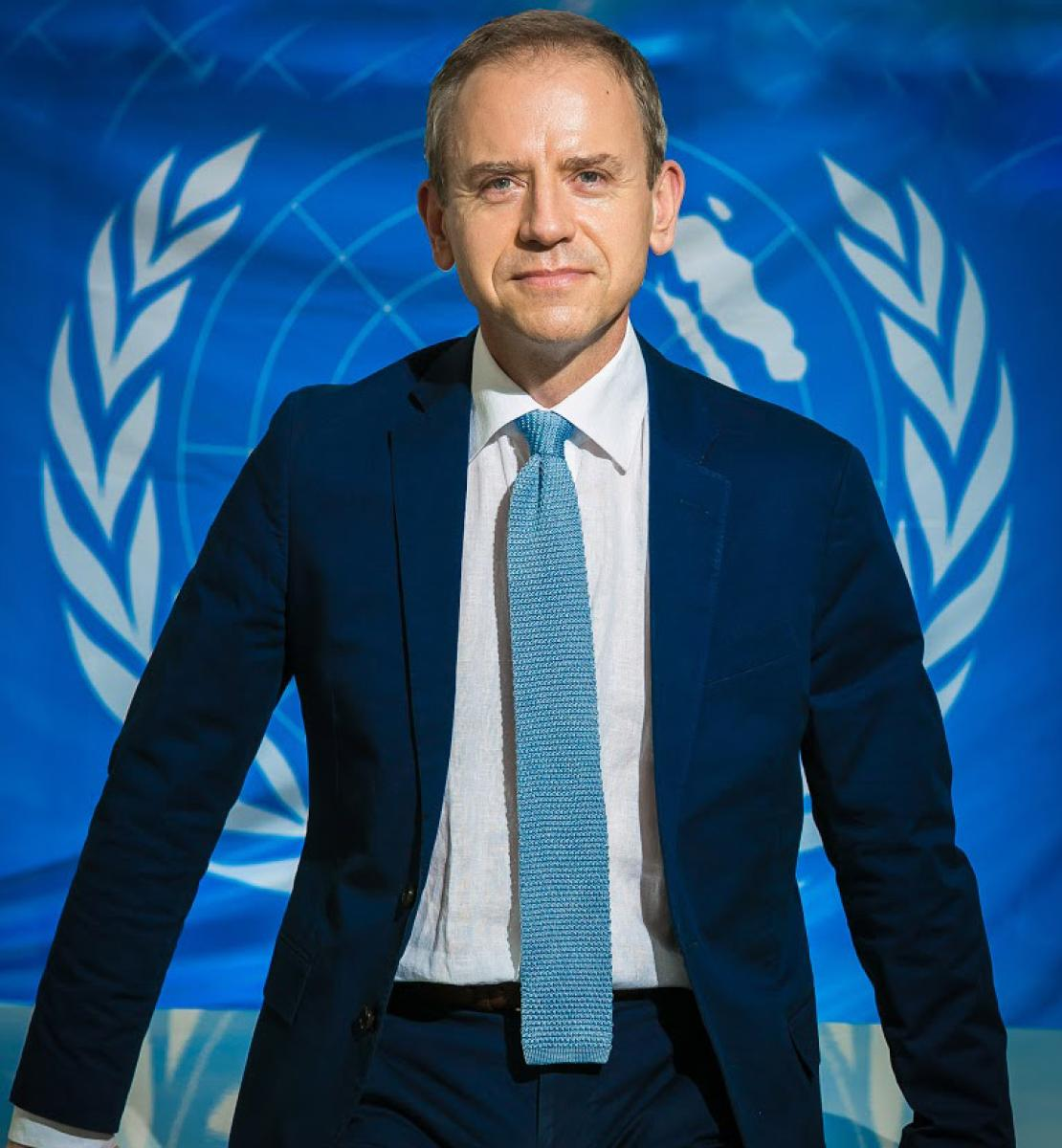 Photo officielle de Stephen Jackson, le nouveau Coordonnateur résident au Kenya.