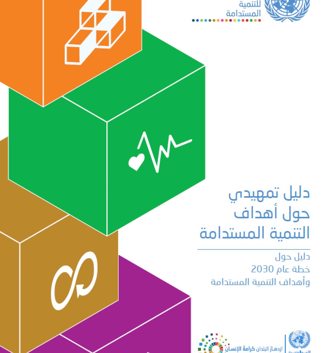 غلاف الدليل التمهيدي حول أهداف التنمية المستدامة