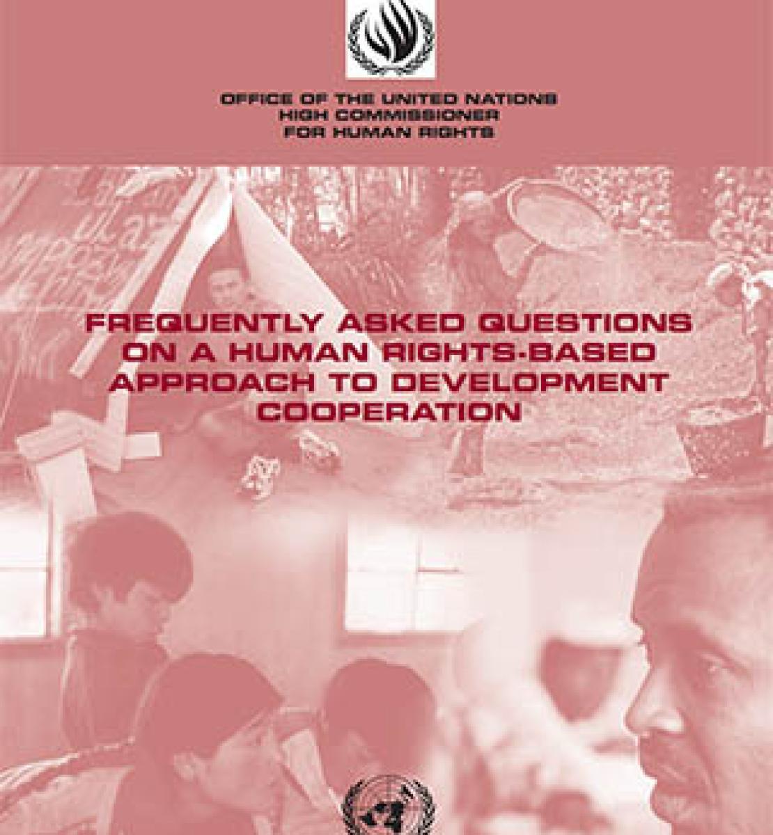 Questions fréquentes sur une approche de la coopération pour le développement fondée sur les droits de l'homme