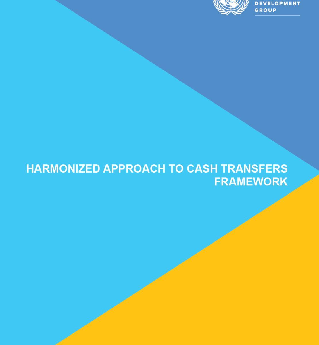 Enfoque armonizado del Marco para las Transferencias de Efectivo asociadas al Método Armonizado de Transferencias en Efectivo