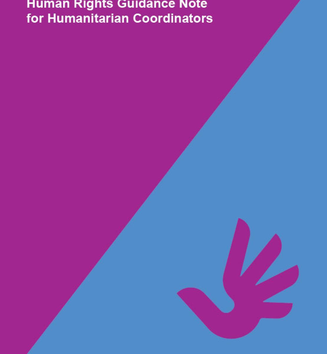 面向人道主义协调员的人权指导说明