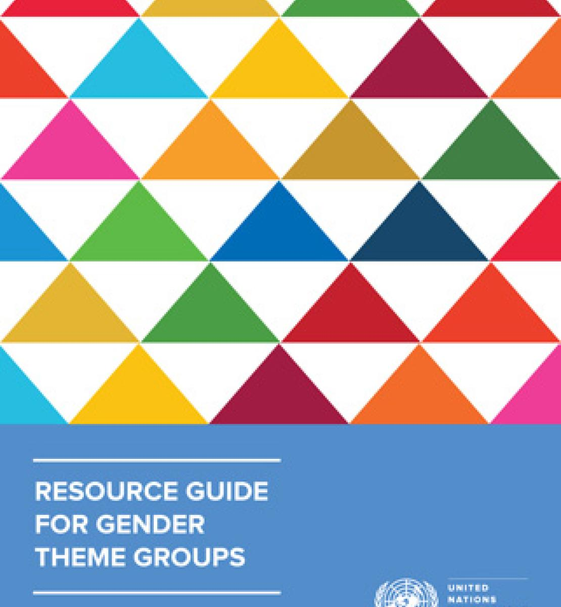 RESOURCE GUIDE FOR GENDER THEME GROUPS