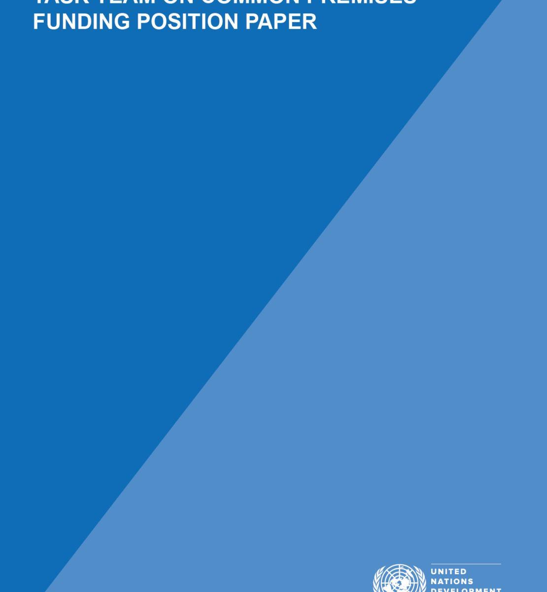 Documento expositivo respecto a la financiación del Equipo de Tareas sobre Locales Comunes