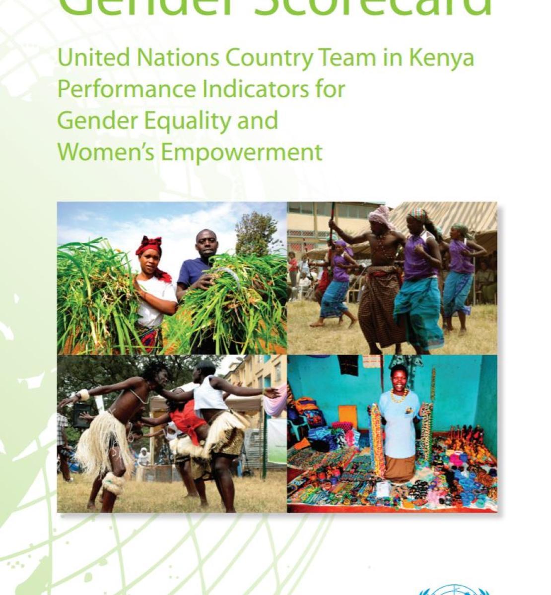 Equipo de las Naciones Unidas en Kenya: Indicadores de desempeño sobre igualdad de género y empoderamiento de la mujer