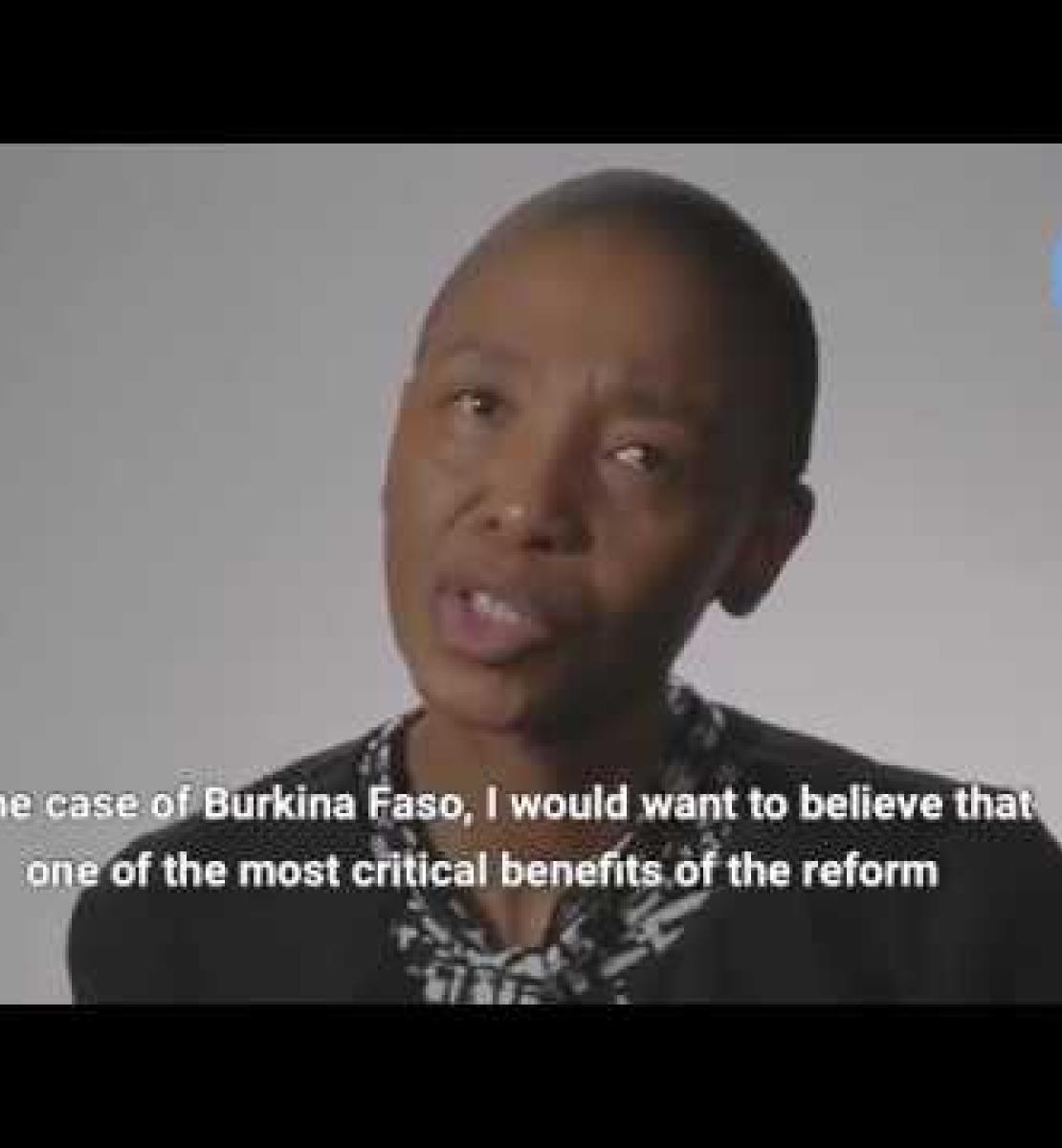Les premiers effets de la réforme des Nations Unies au Burkina Faso