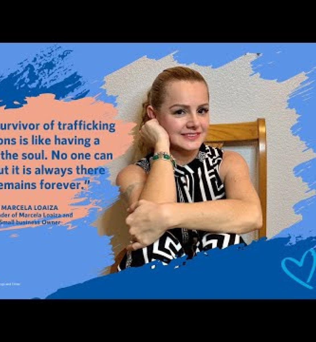 Victims' voices lead the way in the fight against human trafficking